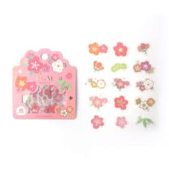 BGM Sakura Flowers Washi Stickers