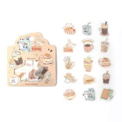 BGM Tea Time Washi Stickers