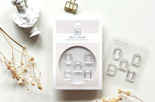 MU My Icon Clear Stamp Set No. 06 Classic Frames
