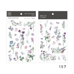 MU Print-On Stickers - Bluebells