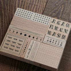 LCN Design Rubber Stamp Set - Odds and Ends Vol. 1