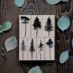 LCN Design Rubber Stamp Set - Forest Vol. 1