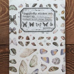 LCN Design Print on stickers- Butterfly sticker set