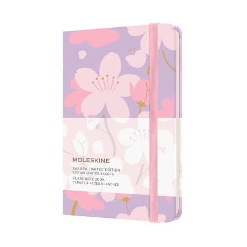 Moleskine Sakura Limited Edition Pocket Notebook - plain
