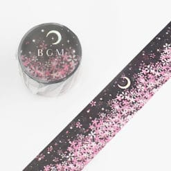 BGM Moonlight Sakura Washi Tape