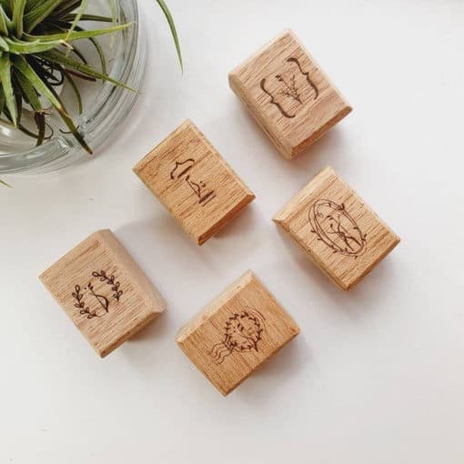 Elsie with Love Rubber Stamp - Forest Tune Series, A