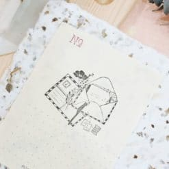 Black Milk Project Rubber Stamps - Analogue