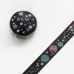 BGM Foil Flowers Washi Tape