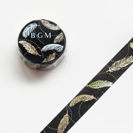 BGM Feathers Washi Tape