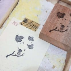 Black Milk Project Rubber Stamps - Bird Paradise