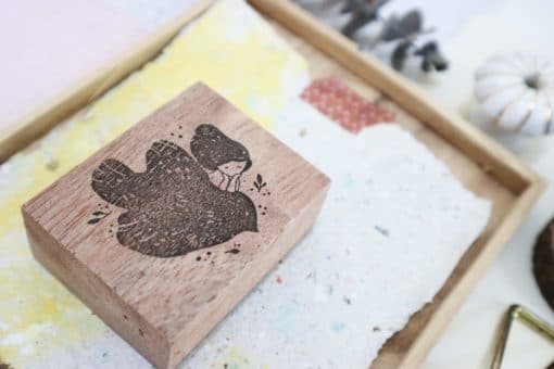 Black Milk Project Rubber Stamps - Bird Soulmate