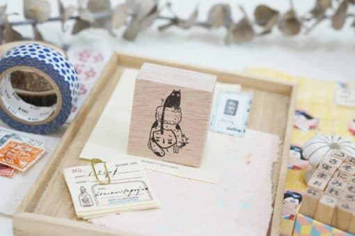 Black Milk Project Rubber Stamps - Cat stack