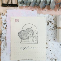 Black Milk Project Rubber Stamps - Daydream