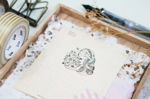 Black Milk Project Rubber Stamps - Feel