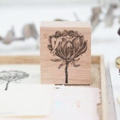 Black Milk Project Rubber Stamps - Floral tub