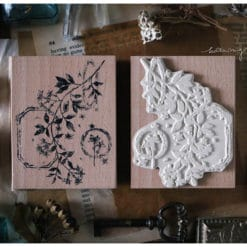 LCN Design Rubber Stamp - Dried Flower, set B
