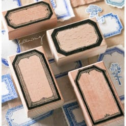 LCN Design Rubber Stamps - Labels stamp set C