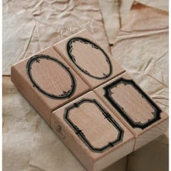 LCN Design Rubber Stamps - Labels stamp set B