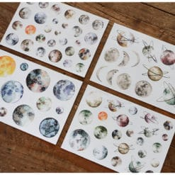LCN Design -Planets washi stickers set