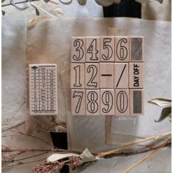 LCN Design Rubber Stamps - Ticket stamp set C