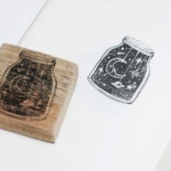 Black Milk Project Rubber Stamps - Jar of Night Skies