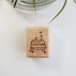 Elsie with Love Rubber Stamp - Kakpoot Series no. 3