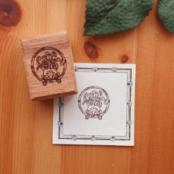 Elsie with Love Rubber Stamp - Kakpoot Series no. 6