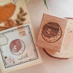 Elsie with Love Rubber Stamp - Moon Series no. 2