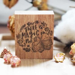 Black Milk Project Rubber Stamps - The Magic in me