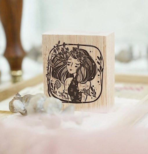 Black Milk Project Rubber Stamps - Marigold