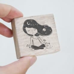 Black Milk Project Rubber Stamps - Meditate