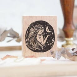 Black Milk Project Rubber Stamps - Moon Lady