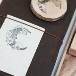 Black Milk Project Rubber Stamps - Moon Bear