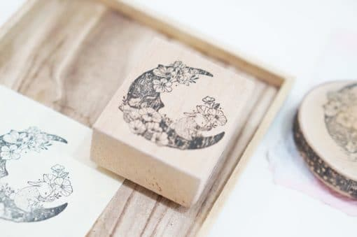 Black Milk Project Rubber Stamps - Moon Rabbit