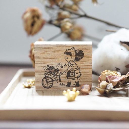 Black Milk Project Rubber Stamps - Plant Lady