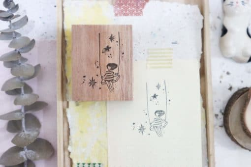 Black Milk Project Rubber Stamps - Starry Swing
