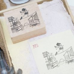 Black Milk Project Rubber Stamps - Tightrope