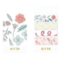 KITTA Collabo Washi Stickers - Bouquet
