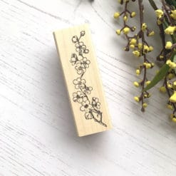 Catslife Press Rubber Stamp - Cherry Blossoms