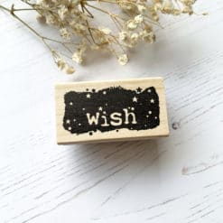Catslife Press Rubber Stamp - Wish