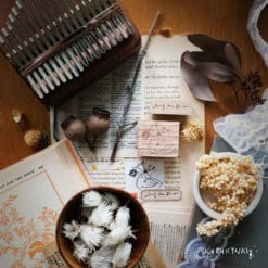 Kurukynki Rubber Stamps - Story Book series: Along the River
