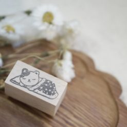 Black Milk Project Rubber Stamps - Engawa Cat on Futon
