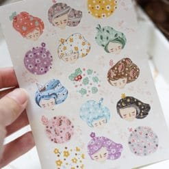 Black Milk Project Stickers - Whimsical Hair