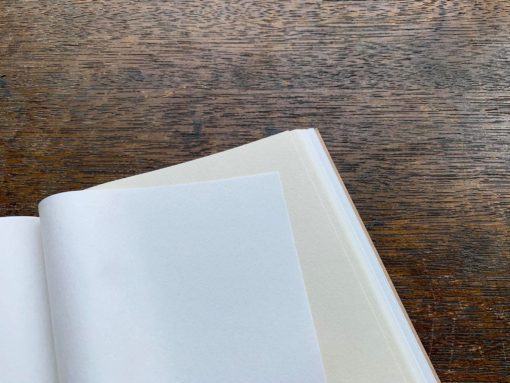 OEDA Letterpress Two Colour Paper Notebook