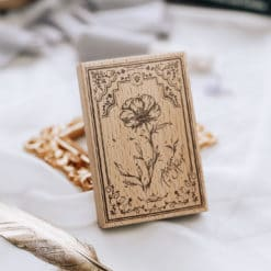 Meow Illustration Stamp - The Old Fashioned Way - Y1803
