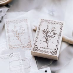 Meow Illustration Stamp - The Old Fashioned Way - Y1804