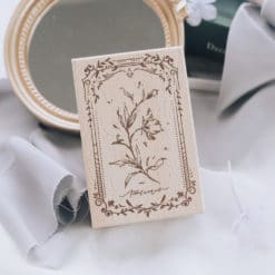 Meow Illustration Stamp - The Old Fashioned Way - Y1805